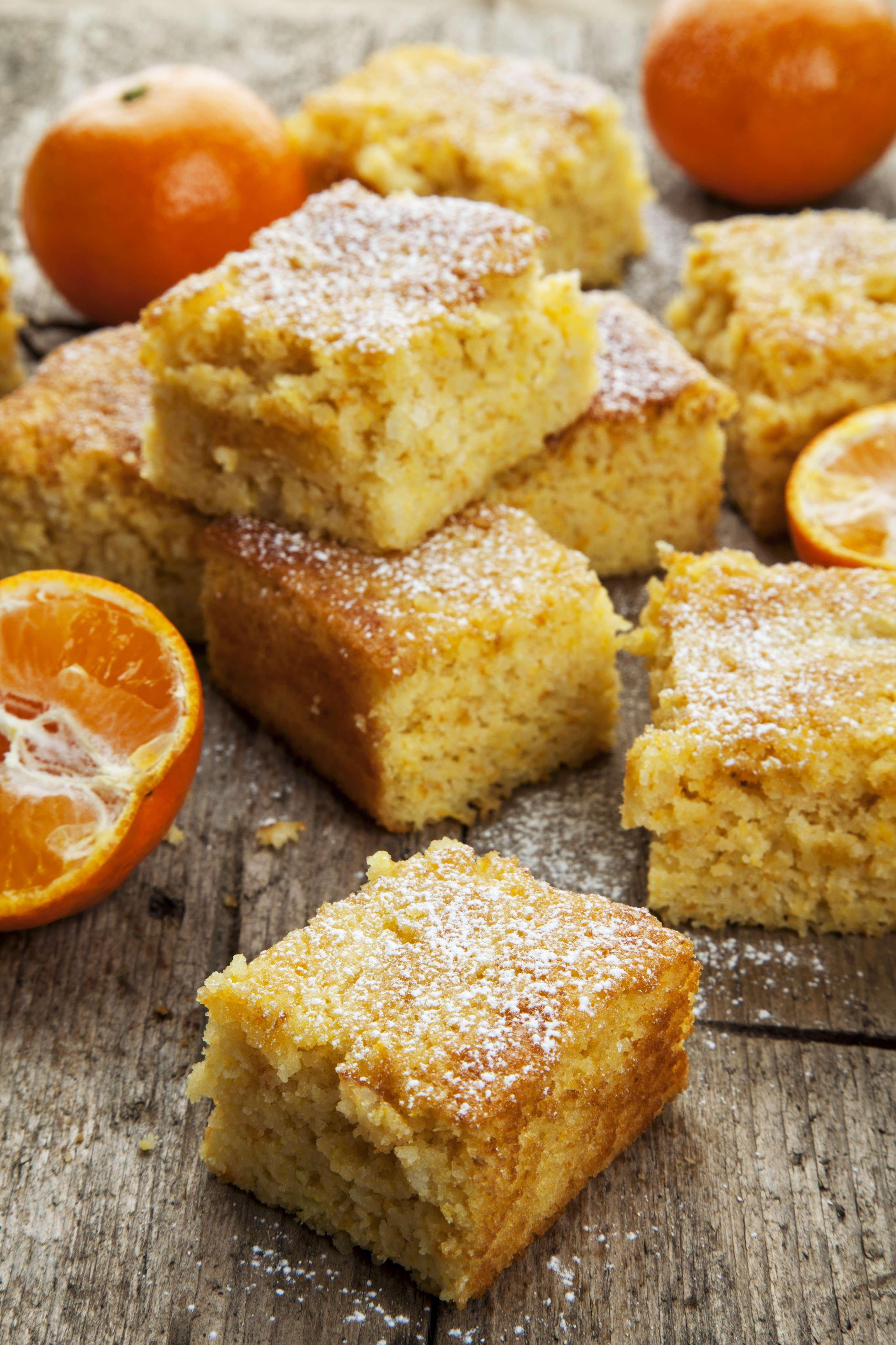 Ricetta torta al mandarino agrodolce for Cucina ricette dolci