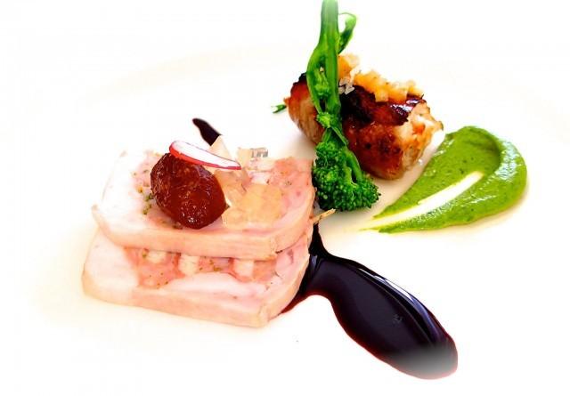 anguilla nel coniglio, un piatto de la trota