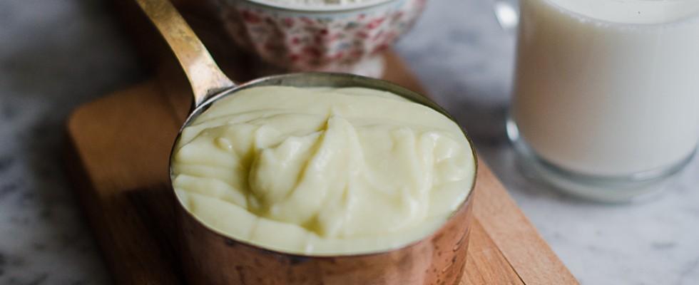 Besciamella senza burro all'olio di oliva