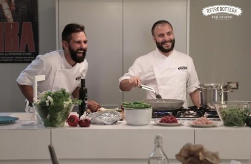 Retrobottega a Roma: tra cliente e cuoco nessuna distanza