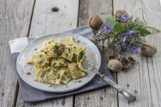 Pansotti, ravioli liguri vegetariani