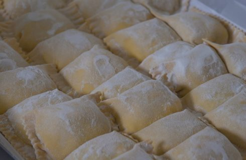 I ravioli fritti liguri con la ricetta semplice
