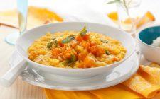 Il risotto ai topinambur e zucca con la ricetta gustosa