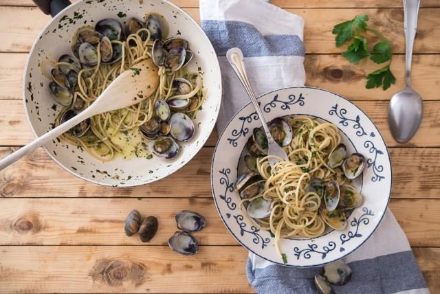 spaghetti con vongole step (26)