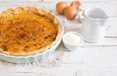 Torta crème brûlée: dolce e aromatica