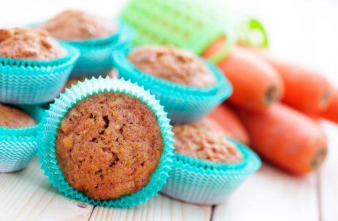 Le tortine alle carote e yogurt per la merenda dei bambini