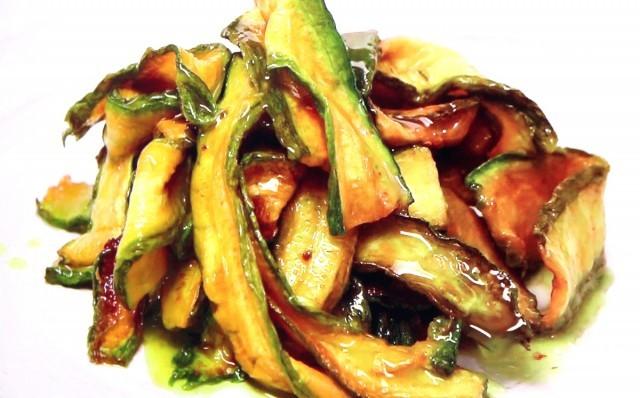 Concia di Zucchine Romanesche