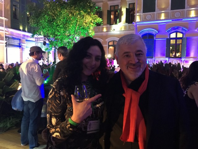 Umberto Bombana e Lorenza Fumelli