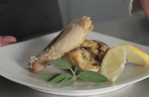 Pollo al cartoccio con limone e zenzero