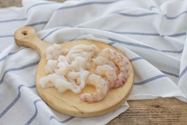 Step 3 lasagne ai frutti di mare