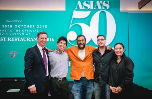 Asia's 50 Best Restaurants: la diretta