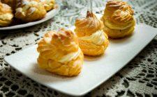 I bignè alla crema di limone con la ricetta golosa