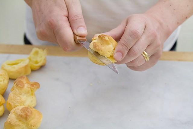 bignè granchio e formaggio (4)
