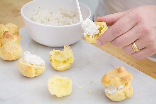 bignè granchio e formaggio (5)