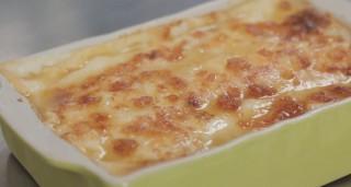 Cannelloni di abbacchio al forno