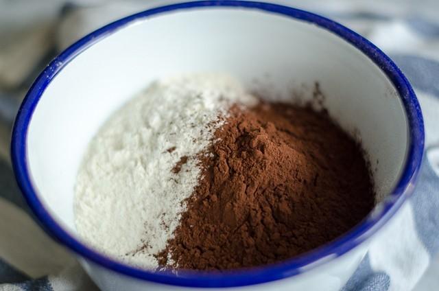 chiacchiere al cacao