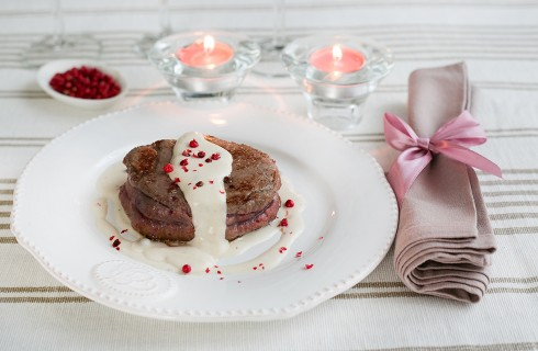 Filetto al pepe rosa per San Valentino