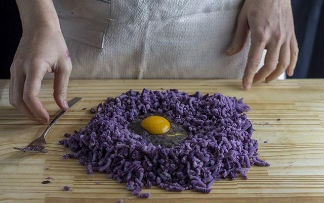 gnocchi di patate viola step3