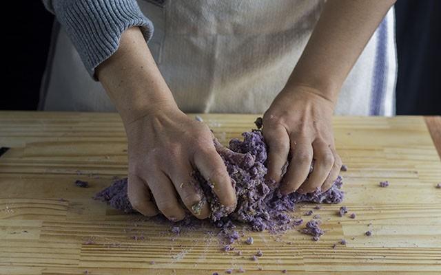 gnocchi di patate viola step5