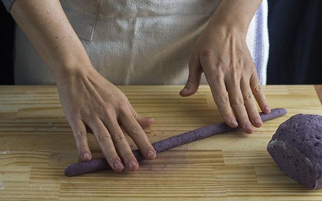 gnocchi di patate viola step7