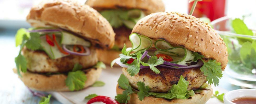 Gli hamburger all'arancia, la ricetta per un panino con ...