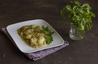 Merluzzo con cipolle, dal Veneto
