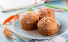 I muffin arancia e carota per una merenda sana