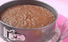 Il pan di spagna al cioccolato di Luca Montersino