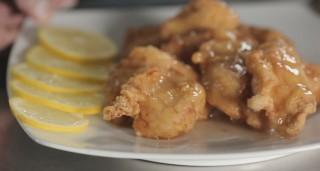 Pollo fritto al limone, cucina cinese