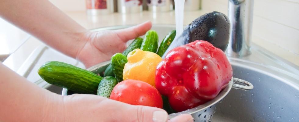 How to: come lavare la verdura