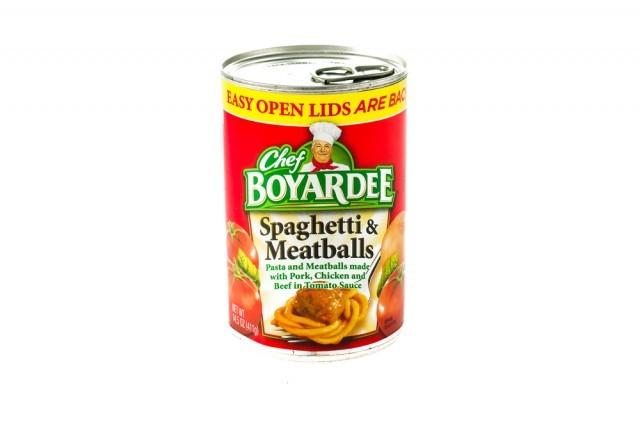 spaghetti in scatola