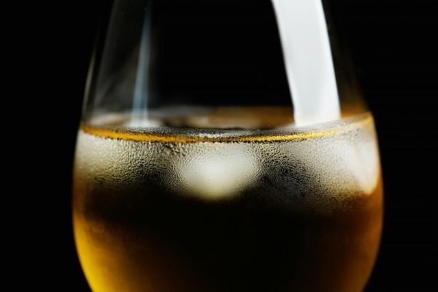 ghiaccio nel vino