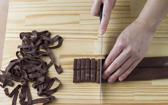 tagliatelle al cacao step3