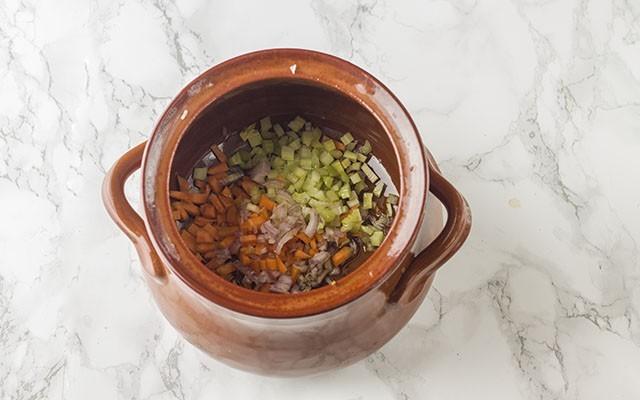 zuppa di cereali step1