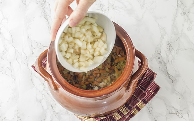 zuppa di cereali step2