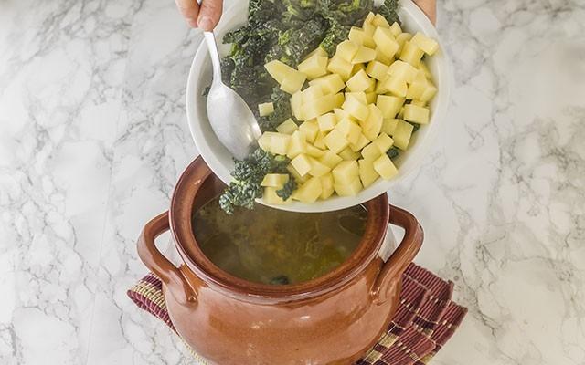 zuppa di cereali step4