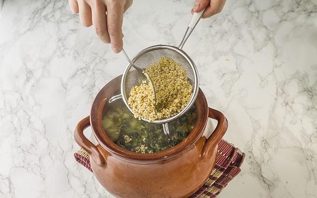 zuppa di cereali step6
