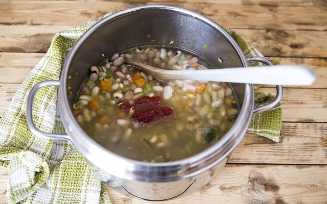 zuppa di orzo e fagioli (5)