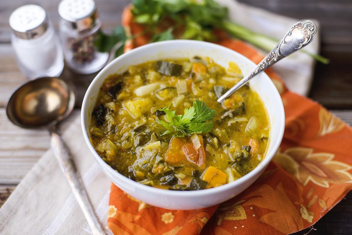 Ricetta zuppa di verdure invernale agrodolce for Ricette di verdure