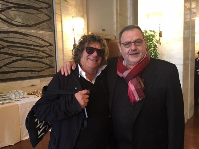 Fulvio Pierangelini e Giancarlo Vissani