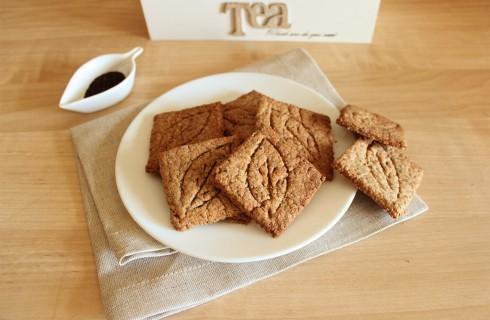 Biscotti vegani al tè verde