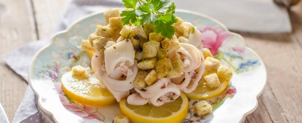 Calamari al profumo di limone