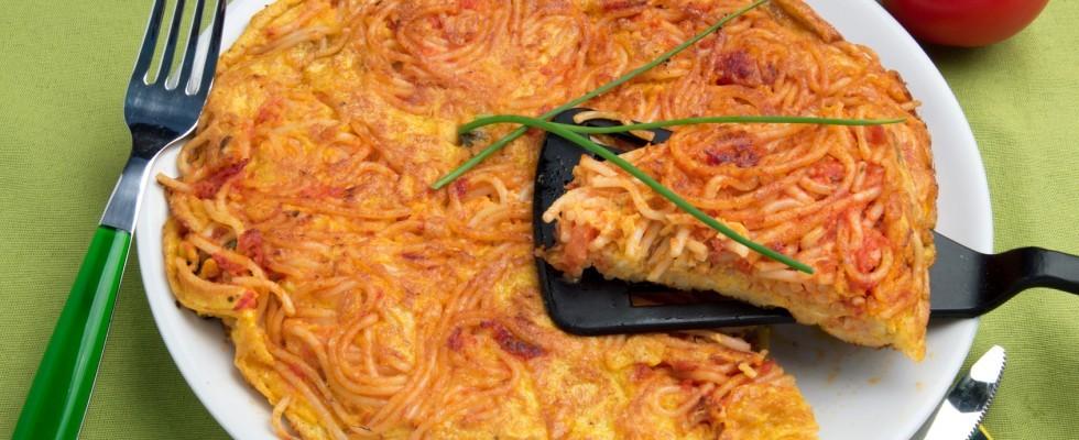 L'arte del riutilizzo: le frittata di pasta
