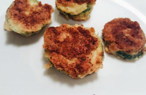 Le frittelle vegane salate per un antipasto sfizioso
