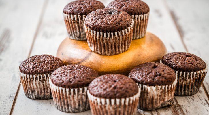 I muffin integrali al cioccolato facili da preparare