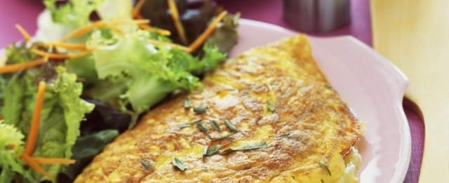 omelette-con-prosciutto