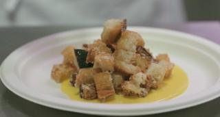 Dandini: pane fritto alla carbonara