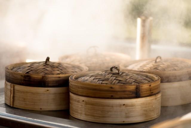 cestelli di bambù