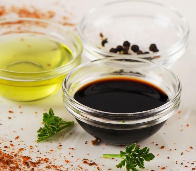 vinaigrette con aceto balsamico