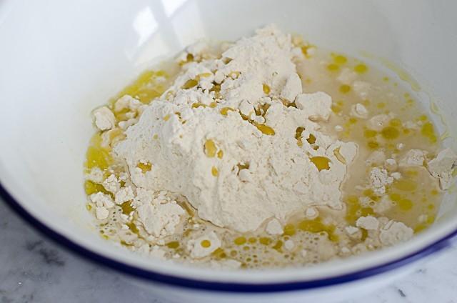 torta con uova sode step